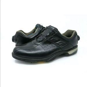 Footjoy Reelfit BOA Black Leather Golf Shoes 53859